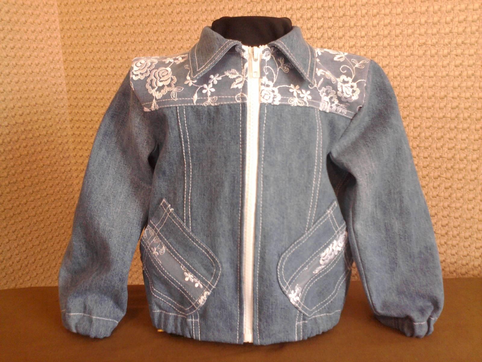 Как сшить джинсовую куртку для девочки самостоятельно? 58